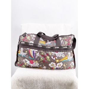 LeSportsac Overnight Bag Psychedelic Print